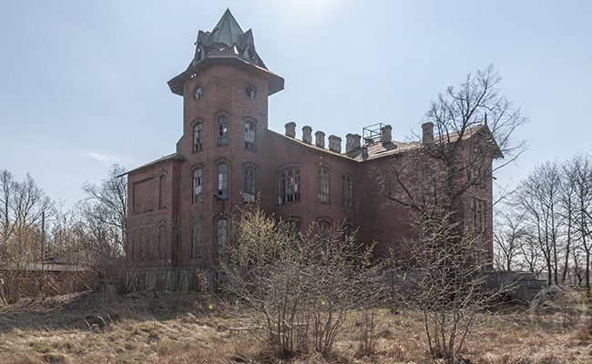 abandoned railway hospital