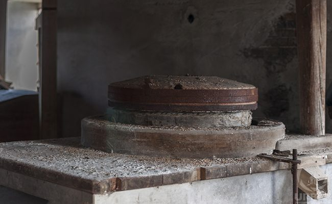 An Old Quern In An Abandoned Water Mill