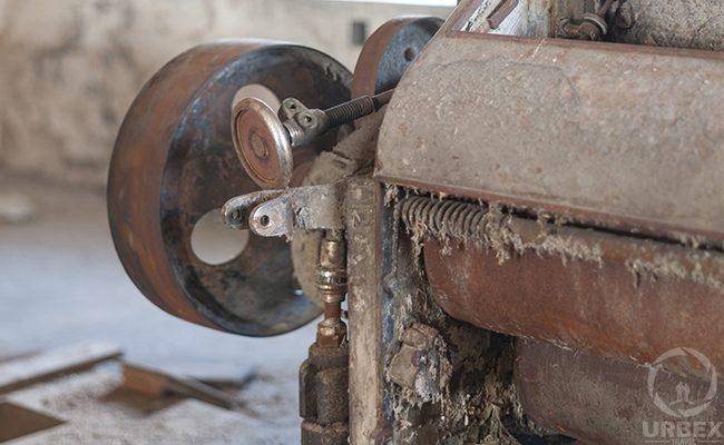 Rusty Device On Urbex