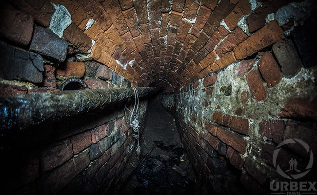 Abandoned corridor of Prince Kazimierz Poniatowski