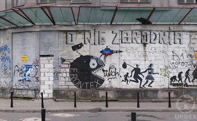graffiti on urbex